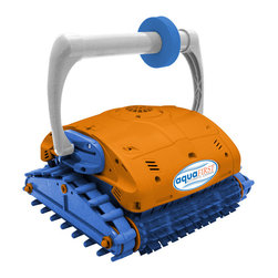 Blue Wave - Blue Wave Aqua First In-Ground Floor & Wall Cleaner - Compare To Aquabot Turbo T; Ultra-Fast Robotic Dynamo Cleans Your Pool In Half The Time! Aquafirst; Turbo Is The Fastest Cleaning, Most Technologically Advanced Pool Cleaner In Its Class. Just Press The Button And The Dirt-Eating Dynamo Provides Triple Function Cleaning To Scrub, Vacuum & Filter Your Pool. The Unit Will Clean Any Pool Up To 50 Feet In Length In 3 Hours Or Less. When Its Work Is Done, Aquafirst; Turbo Automatically Shuts Itself Off. Vacuums, Scrubs & Filters The Unit Powerful Suction Motor Sucks Up All Debris, Leaves & Twigs And And Deposits Them In Its Own Filtration Bag. Aquafirst; Turbo Filters 5,000 Gallons Of Pool Water Per Hour And Removes Dirt, Debris And Even Algae. Almost Nothing Is Small Enough To Evade Its Filtration Bag. Powerful Brushes On The Front And Back Of The Unit Scrub Away Stubborn Dirt And Algae From Your Pool Surfaces. Since Aquafirst; Turbo Has Its Own Filtration System It Reduces The Load On Your Existing Pump And Filter System While It Distributes Heat And Chemicals As It Cleans. Economical, Super Safe Low Voltage Aquafirst; Turbo Runs On A Safe, Ultra-Efficient 24 Volts. The Pre-Programmed Unit Cleans Your Pool Floors, Steps And Walls Up To The Water Line In 3 Hours Or Less & Automatically Shuts Itself Off When Its Work Is Done. Patented Neverstuck; Rollers Keep Aquafirst; Turbo From Getting Stuck On Main Drains And Other In-Floor Obstructions. Designed For Residential Pools Up To 50; Long, The Unit Comes Complete With Cleaner, 60 Feet Of Floating Cord And Low Voltage Transformer. Aquafirst; Turbo Is Lightweight; 17 Lbs; And Easy To Lift Out Of The Pool. UL and ETL Listed. 1-Year Warranty.