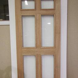 Legacy Chippendale Storm/Sceen Doors - 6 Panel Solid Mahogany Storm/Screen Door - www.legacychippendaledoors.com