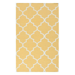Artistic Weavers - Artistic Weavers York Mallory (Gold) 4' x 6' Rug - This Hand Woven rug would make a great addition to any room in the house. The plush feel and durability of this rug will make it a must for your home. Free Shipping - Quick Delivery - Satisfaction Guaranteed