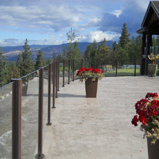 Modern Fencing by Falcon Railing and Superdeck