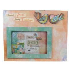 """WL - """"Friends Forever"""" 4 x 6"""" Picture Frame with 2 Birds Decoration - This gorgeous """"Friends Forever"""" 4 x 6"""" Picture Frame with 2 Birds Decoration has the finest details and highest quality you will find anywhere! """"Friends Forever"""" 4 x 6"""" Picture Frame with 2 Birds Decoration is truly remarkable."""