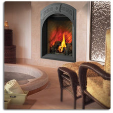 Indoor Fireplaces by Home Perfect