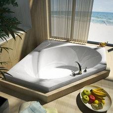 Modern Bathtubs by Luxvanity