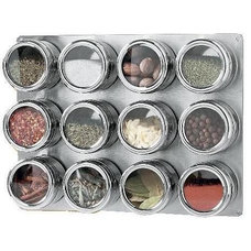Contemporary Spice Jars And Spice Racks by Chiasso