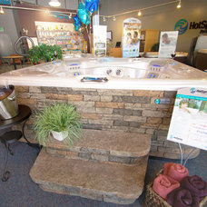 Contemporary Swimming Pools And Spas by Oregon Hot Tub