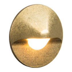FX Luminaire - FX Luminaire - CG Series Wall Light in Natural Brass - Smaller than the standard classic ML, the CG maintains a powerful light pattern while being a perfect blend of simplicity and function.