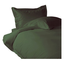 """600 TC Fitted Sheet 26"""" Deep Pocket Solid Olive, Full XL - You are buying 1 Fitted Sheet (54 x 80 inches) only."""