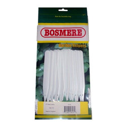 Bosmere - Bosmere 6 in. White Plant Labels - Pack of 25 - H165 - Shop for Garden Equipment from Hayneedle.com! About Bosmere For over 25 years the Bosmere group has been established in the world of home garden and leisure. Bosmere manufactures original ideas and designs that are built to stand the test of time. One mark of their superior quality is that 20 to 30 percent of their business is exported to a world market that demands top quality service customer support and competitive pricing. Established in North America for over 15 years Bosmere has been serving the entire country and also sends wholesale goods to Canada Central and South America. Part of their focus on outstanding customer service includes products that are attractively packaged and well presented with informative instructions diagrams and photographs.