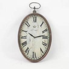 Traditional Clocks by Candelabra