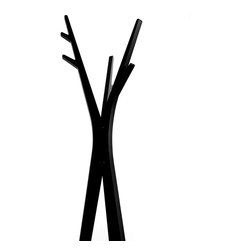 Progetti - Treepod Coat Stand In Painted Wood - Coat hanger in painted wood