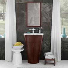 Eclectic Bathroom Vanities And Sink Consoles by Next Plumbing Supply