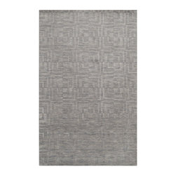 Surya Rugs - Etching Rectangular: 5 Ft. x 8 Ft. Rug - - The Etching Collection offers a variety of solid colors with a hard twist texture.  Each rug has a pattern of daisy like flowers dancing across it's borders. The rugs in this collection will add a touch of whimsy to your room.  Hand crafted in India from 100% wool.    - Cotton Border | Hard Twist Texture  - 100% Wool  - Plush Pile Surya Rugs - ETC4908-58