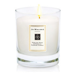English Pear & Freesia Home Candle - The finishing touch for an English-inspired home would have to be a set of these Jo Malone candles. I never tire of their understated packaging, and I like that they bring a bit of London townhouse elegance to any room.