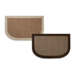 Microdry - Microdry Chenille Linen Kitchen Mat - Get comfortable anywhere you spend a long time standing (kitchen, laundry room, workshop, garage) with this great, cushioned mat. The mat features a layer of Memory Foam HD that provides anti-fatigue comfort.