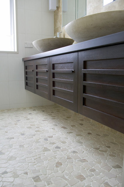 Contemporary Tile by Island Stone