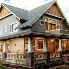 traditional exterior by WW Builders Design/Build Associates