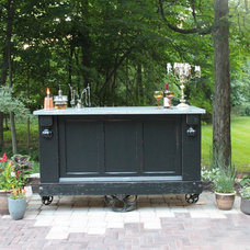Eclectic Bar Carts by Elemental Outdoor Living