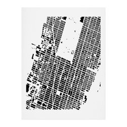 DENY Designs - DENY Designs CityFabric Inc NYC Midtown White Art Print - Finally an affordable wall art option! Order one statement print or live on the edge and dream up an entire gallery wall. And whether you frame it or hang it as-is, your walls will be big on inspiration while being kind on your pocketbook.