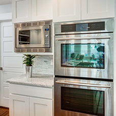 Contemporary Kitchen Cabinetry by Crown Cabinets