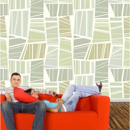 Contemporary Wallpaper by Customized Walls