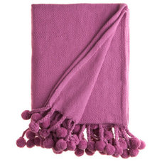 Contemporary Blankets by Calypso St. Barth