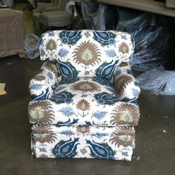 Chair Upholstery - A&B Upholstery