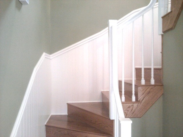 Contemporary Staircase by ADF Flooring LLC