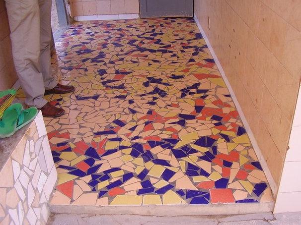 Tropical Entry tiles