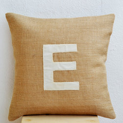 Monogram Pillows - Amore Beaute