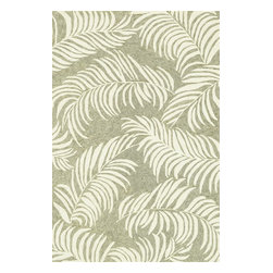 Loloi Rugs - Loloi Rugs Tropez Sage-Ivory Contemporary Indoor / Outdoor Rug X-6563VIGS10-ZTPO - Set the foundation for an island lifestyle with our Tropez Collection. Hand hooked in China of 100% polypropylene, Tropez features tropical inspired design with trending-now colors suited for outdoor living. Take a closer look (or zoom in), and you'll notice the use of mixed yarns that give Tropez a refined color blend. And like all of our indoor/outdoor rugs,Tropez is easy to clean and will withstand any rain or sunshine.