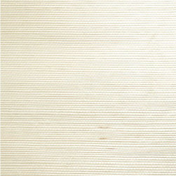 Ming Cream Grasscloth Wallpaper - Silky sea grasses in a sunny cream hue, this eco-chic grasscloth wallpaper creates an exotic texture for walls.