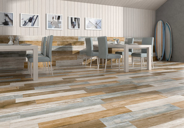 Contemporary Dining Room COVERINGS 2013