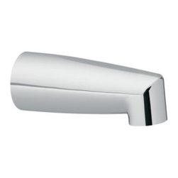 """Moen - Moen 3828 Non-Diverter Tub Spout in Chrome, 1/2"""" IPS - Moen 3828 Non-Diverter Tub Spout in Chrome, 1/2"""" IPS"""