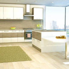 Contemporary Kitchen by Wren Kitchens