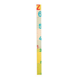 Studio 1AM - Measure Me Stick - Measure Me Stick transforms the traditional ruler into a playful, modern object. Display as an original graphic piece or use to chart your child's growth through the years.
