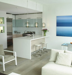 modern kitchen by kimberly peck architect