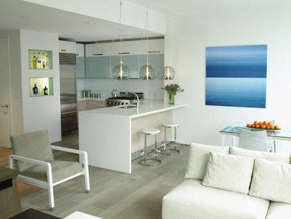 Modern Kitchen by kimberly peck architect