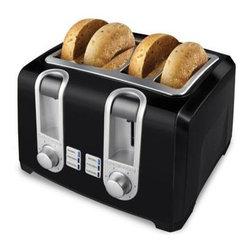 Applica - Black Decker 4 Slice Toaster 4 Slot Black - Black and Decker 4 Slice Toaster with Black finish.
