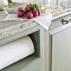 Paper towel nook idea