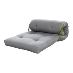 Karup Design - Karup Design Roller, Vision-Lime - Based on the idea of total comfort and flexibility, Roller is a clever take on the traditional lounger. Easy to fold out and turn into a lounge pad, this hip lounger is a must have if you