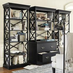 Ballard Designs - Bourdonnais File Hutch - Coordinates with our Bourdonnais Desk, Bookcases, and ...