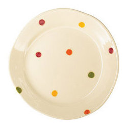Pallini Dinner Plate - These gorgeous handmade plates from Vietri can be mixed and matched or you can buy the whole set. They'll last you for life.