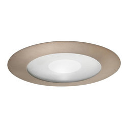 """Juno Lighting - Juno 212 5"""" Frosted Lens with Clear Center Trim, 212n-Abz - 5"""" Frosted Lens with Clear Center Trim for use with select Juno housings."""