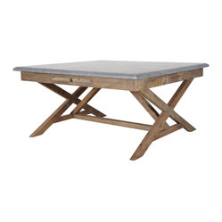 "Palma 35"" Bluestone Bunching Table"