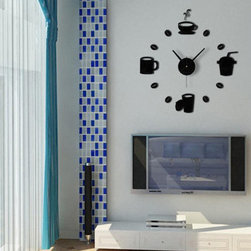 Wall Decals Clock - Package Include: