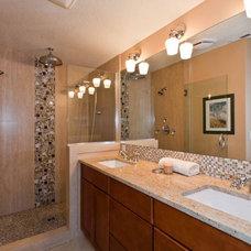 Bathroom by Angela Todd Designs, Portland, OR