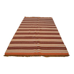 1800GetARug - Hand Woven Soft Colors Flat Weave Durie Kilim Sh6977 - About Flat Weave