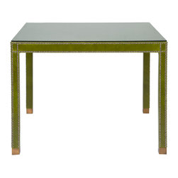 Vanguard Furniture - Vanguard Furniture Gaston Upholstered Game Table L118-GT - Vanguard Furniture Gaston Upholstered Game Table L118-GT