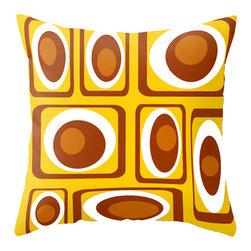 Crash Pad Designs - 50's Inspired Throw Pillow, Decorative Pillow by Crash Pad Designs - Mid Century Modern Throw Pillow, Modern Pillow, Decorative Throw Pillow,