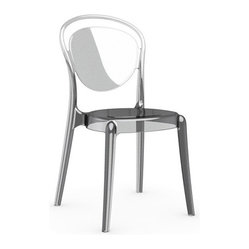 Parisienne Chair, Set of 2, Transparent